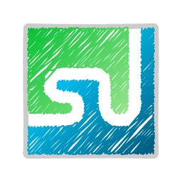 stumbleupon Sue Tomlin Logo