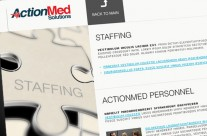 ActionMed Solutions Website