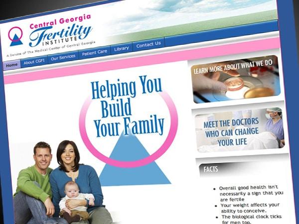Central Georgia Fertility Institute Website