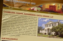 Chambless Higdon Richardson Katz Griggs Attorneys Website