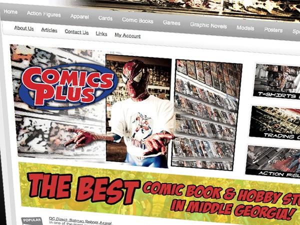 Comics Plus Website