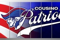 Cousino High School Patriots Wall Padding