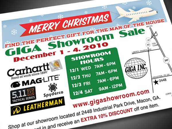 GIGA Showroom Postcard