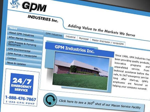 GPM Industries Website