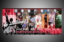 Hampton-Dumont Sports Mural