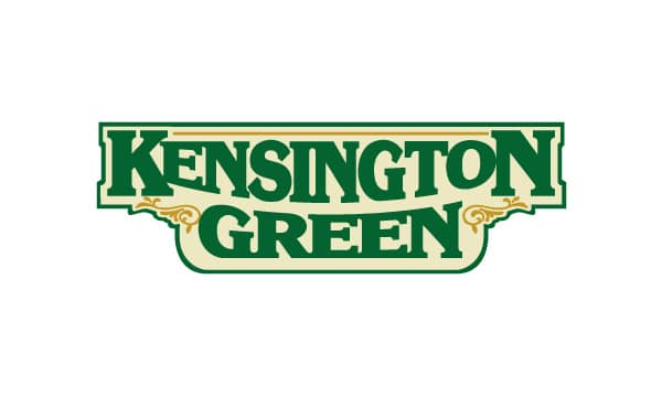 Kensington Green Sandblasted Sign Design