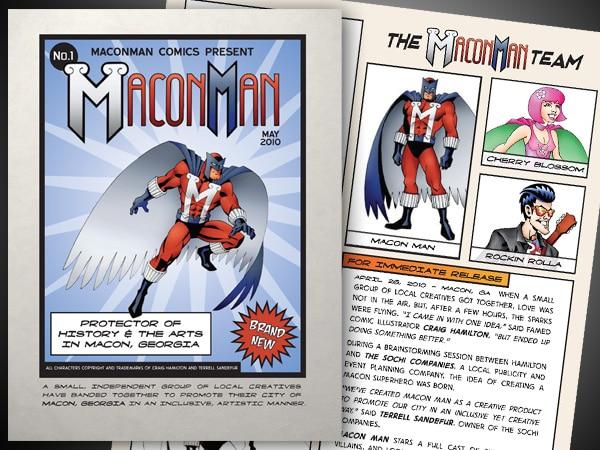Macon Man Press Kit