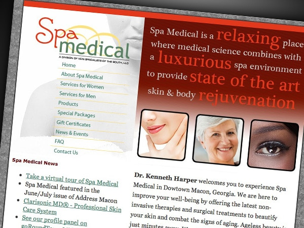 Spa Medical Website
