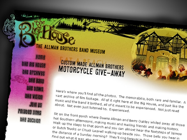 The Allman Brothers Band Museum at The Big House Website