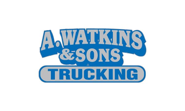 A. Watkins & Sons Trucking Logo