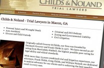 Childs & Noland Trial Lawyers Website