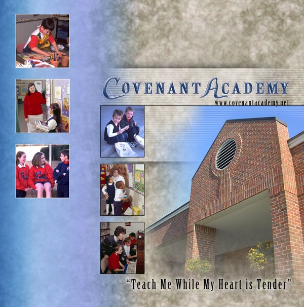 Covenant Academy Presentation Folder Graphic