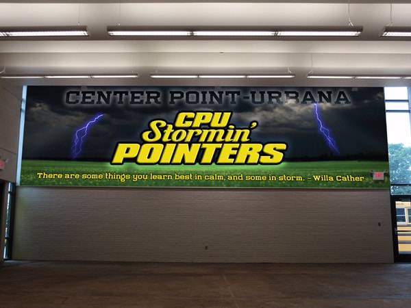 CPU Stormin' Pointers Wall Mural