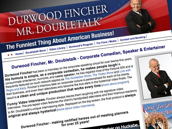 Durwood Fincher – Mr. Doubletalk Website