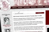 Georgia Women of Achievement Website