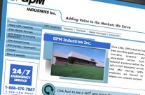 GPM Industries Website