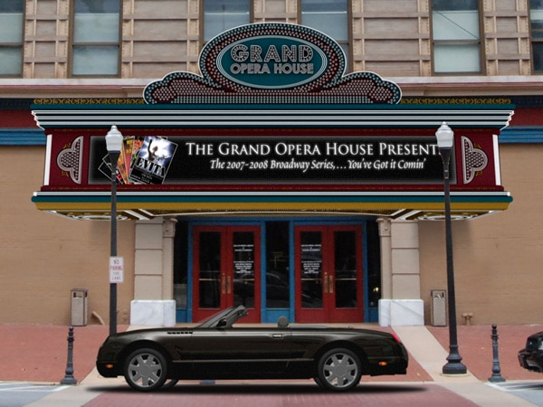 Grand Opera House Marquee Sign