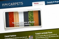 H&H Carpets Website
