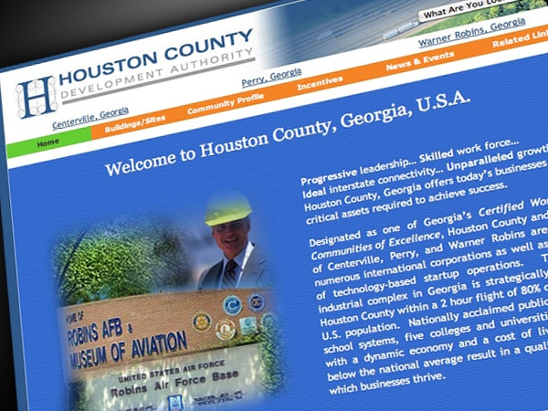 Houston County Development Authority Website