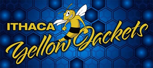 Ithaca High School Yellow Jackets Banner