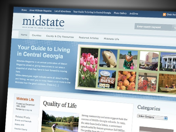 Midstate Magazine Website