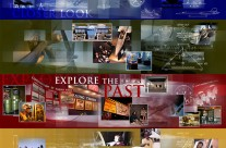 Museum of Aviation Website Montages