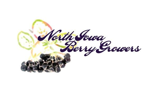 North Iowa Berry Growers Logo