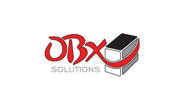 OBX Solutions Logo Design