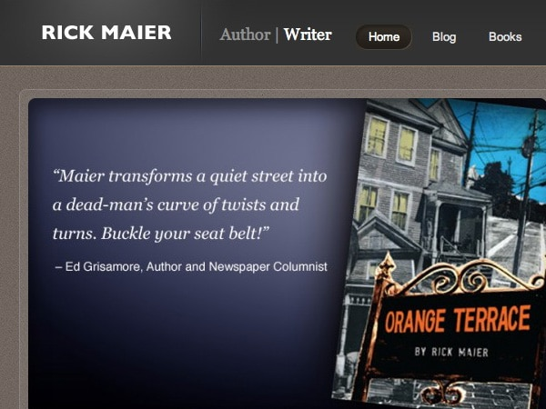 Rick Maier – Author | Writer