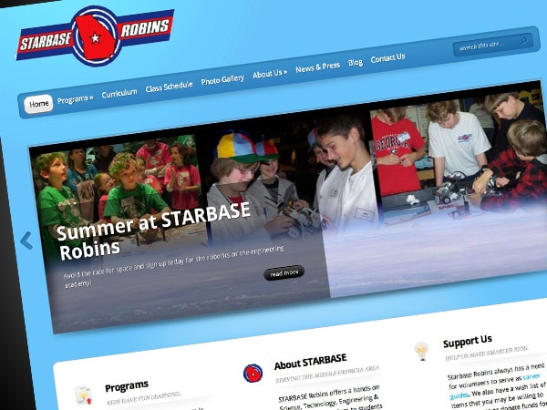 Starbase Robins Website