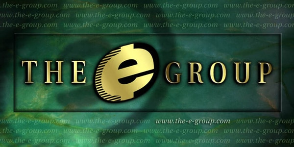 The e Group Logo Graphic Composite