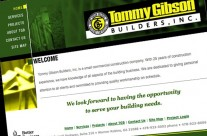 Tommy Gibson Builders Website