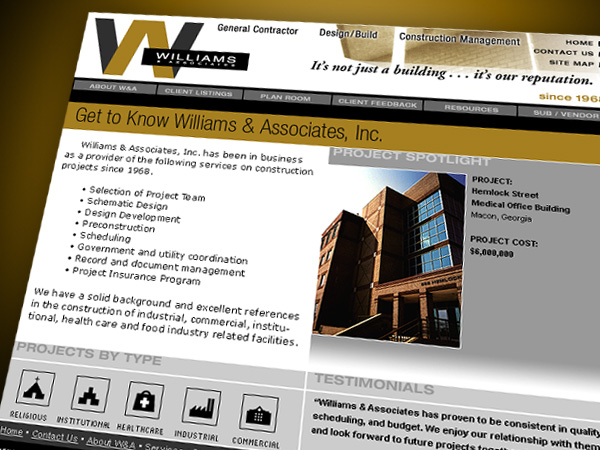 Williams & Associates Website
