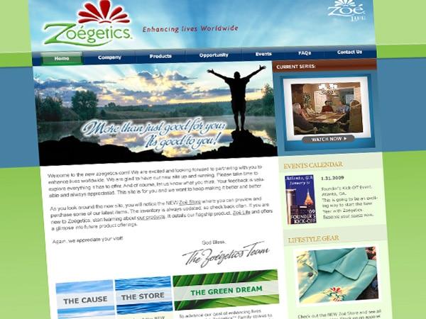 Zoegetics Website